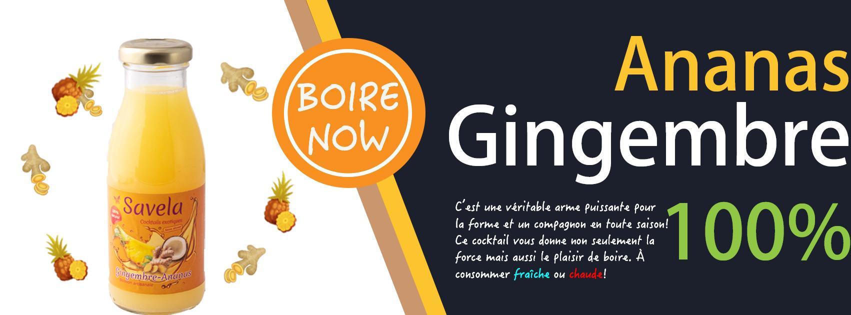 Gingembre-Ananas