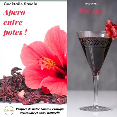 Cocktails d'Hibiscus