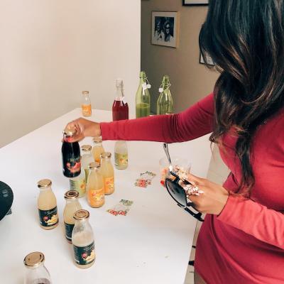 présentation des boissons savela