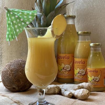 Ananas-gingembre